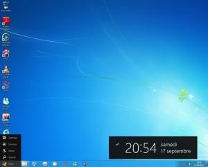 Bureau sous Windows 8