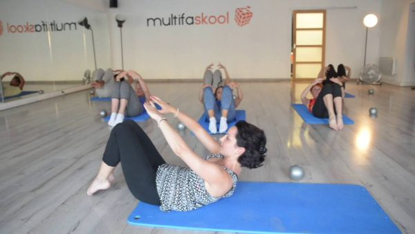 multifaskool pilates yoga EVJF